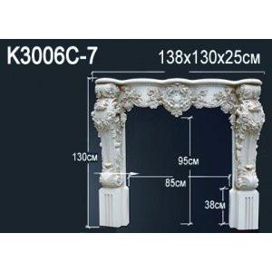 Лепнина Перфект Камин K3006