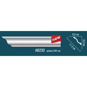 Лепнина Перфект Карниз потолочный гладкий AB230