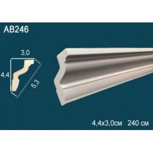 Лепнина Перфект Карниз потолочный гладкий AB246 FLEX