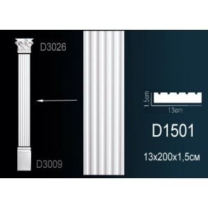 Пилястра D1501
