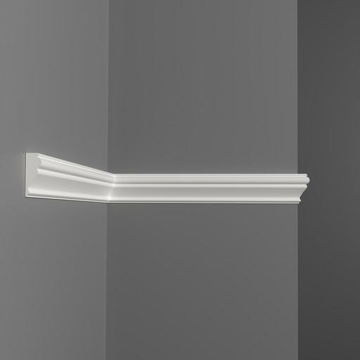 D161s Молдинг гладкий Decomaster (40*17 мм)