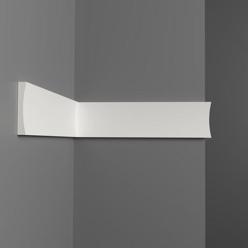 D045 Молдинг гладкий Decomaster (50*8 мм)