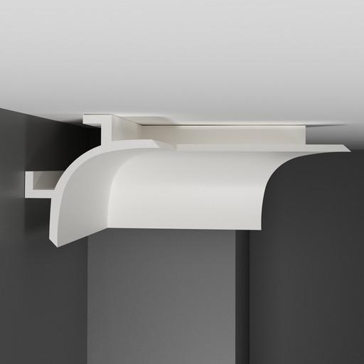 A208 Плинтус потолочный Decomaster (130*130 мм)