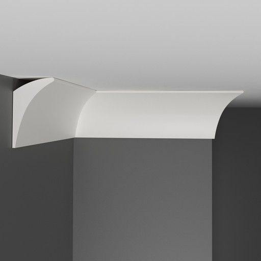 A209 Плинтус потолочный Decomaster (70*42 мм)