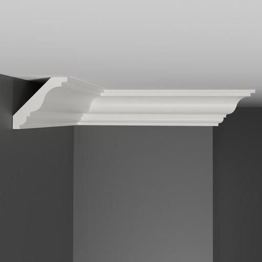 A210 Плинтус потолочный Decomaster (49*49 мм)