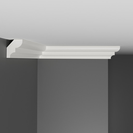 A211 Плинтус потолочный Decomaster (31*23 мм)