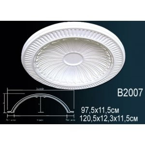 Лепнина Perfect B2007 Купол