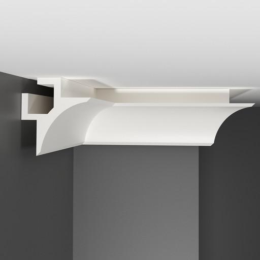 A201 Плинтус потолочный Decomaster (86*86 мм)