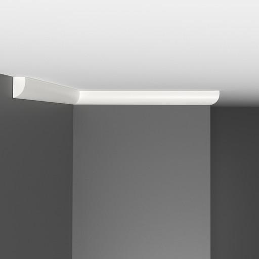 A019 Плинтус потолочный Decomaster (19*11 мм)