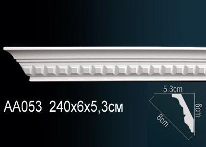 Лепнина Перфект Карниз потолочный с рисунком AA053