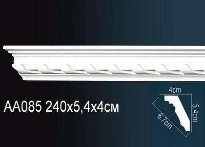 Лепнина Перфект Карниз потолочный с рисунком AA085