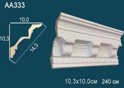 Лепнина Перфект Карниз потолочный с рисунком AA333