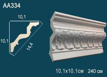 Лепнина Перфект Карниз потолочный с рисунком AA334