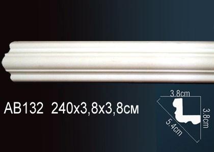 Лепнина Перфект Карниз потолочный гладкий AB132