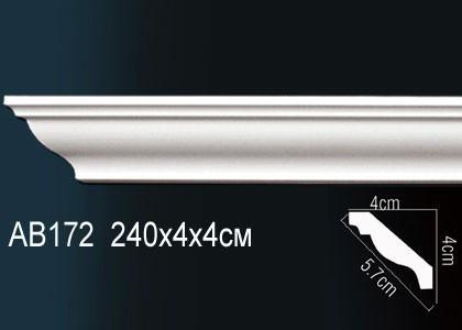 Лепнина Перфект Карниз потолочный гладкий AB172