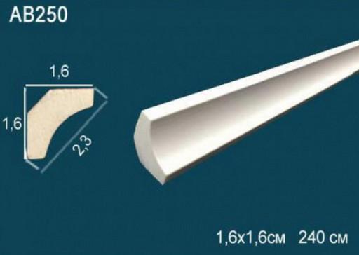 Лепнина Перфект Карниз потолочный гладкий AB250