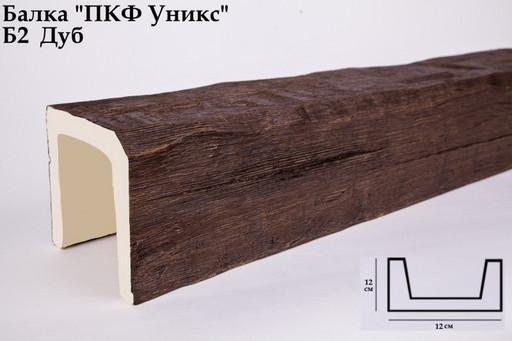 Балка декоративная Уникс Б2 Дуб