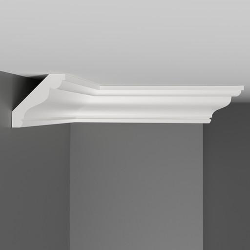 D155 Плинтус потолочный Decomaster (50*50 мм)