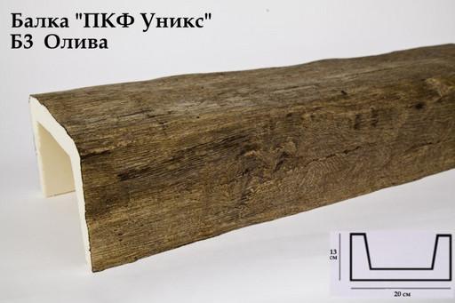 Балка декоративная Уникс Б3 Олива