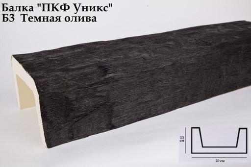 Балка декоративная Уникс Б3 Темная Олива