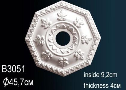 Лепнина Perfect B3051 Розетка потолочная
