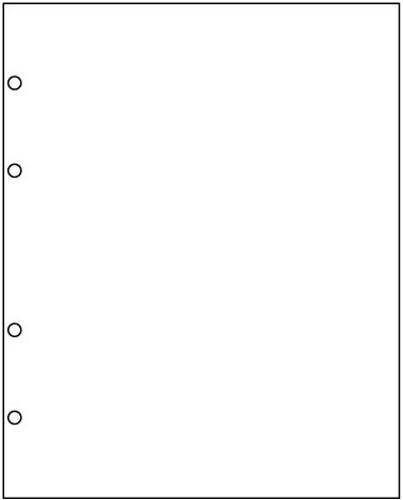 Разделительный лист формата Optima - белый