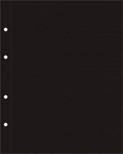 Разделительный лист формата Optima - чёрный