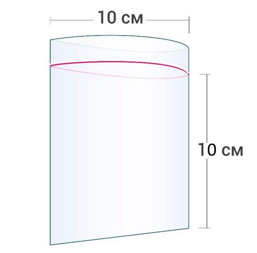 Пакет Zip-Lock 10*10 см