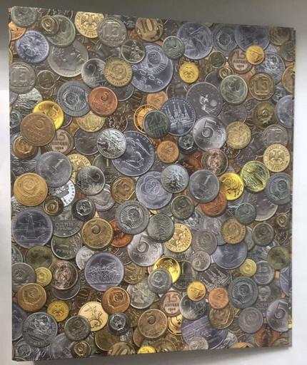 """Альбом для """"наших"""" монет без листов с рисунком (корешок 40 мм)"""