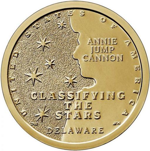 1 доллар США 2019 Энни Джамп Кэннон