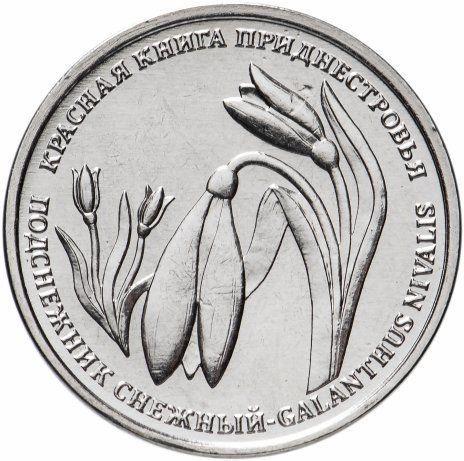 1 рубль 2020 Приднестровье «Подснежник снежный»