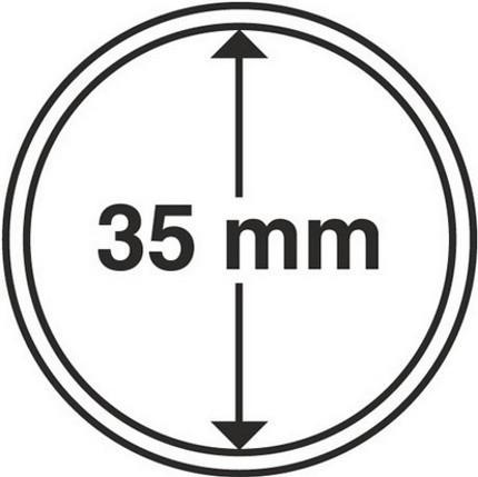 Капсула для монеты диаметром 35 мм