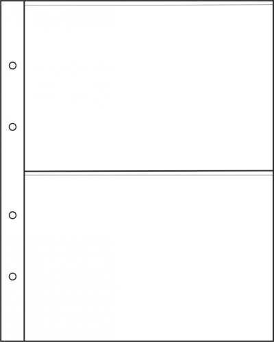 Лист для бон на 2 ячейки формата Optima
