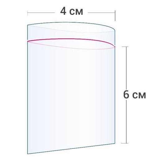 Пакет Zip-Lock 4*6 см