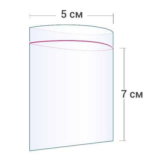 Пакет Zip-Lock 5*7 см