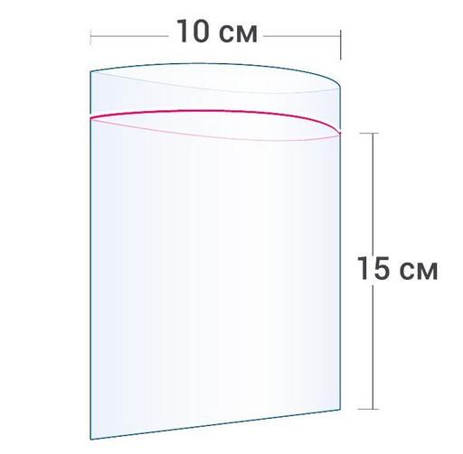 Пакет Zip-Lock 10*15 см