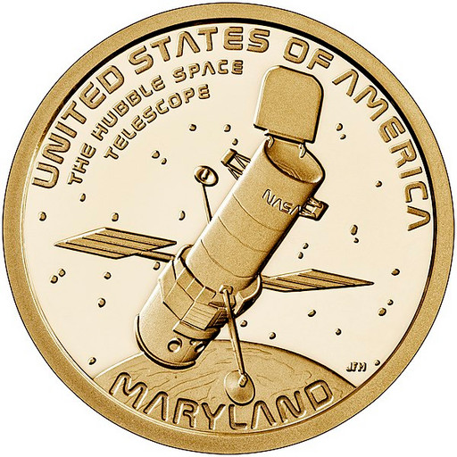 1 доллар США 2020 Космический телескоп «Хаббл»