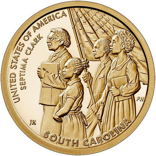 1 доллар США 2020 «Септима Кларк»