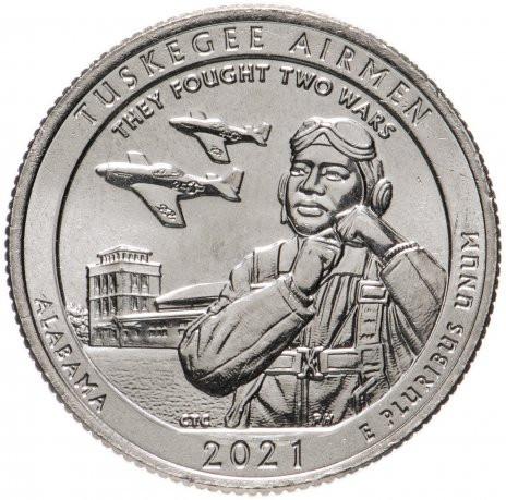 25 центов США 2021 56-й парк Алабама