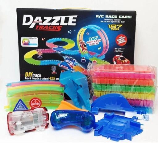 Игрушечный трек Dazzle Tracks 187 деталей