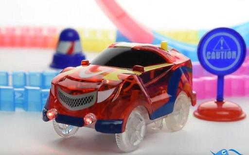 DAZZLE TRACKS 187 деталей с пультом управления | Игрушечный трек для машинок | Конструктор трасса! Лучшая цена