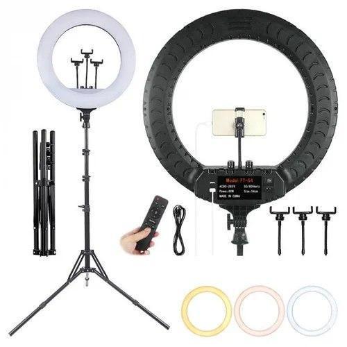Кольцевая лампа RL-14 LED Soft Ring 36см 36W с дистанционным управлением сумка и штативом / черный