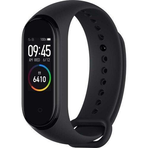 Фитнес-трекер браслет Smart Mi Band 4 Black смарт часы черные