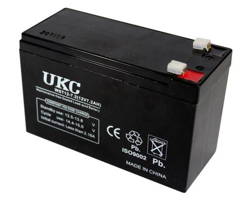Гелевый аккумулятор BATTERY GEL 12V 7A UKC CK