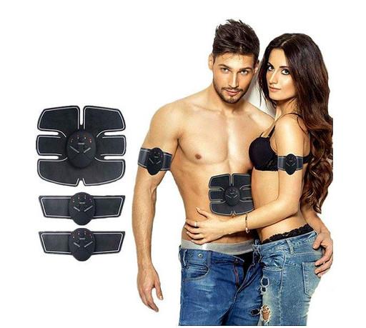 Миостимулятор для пресса Fitness EMS fit boot toning, пояс бабоча, электростимулятор мышц, тренажер 3 в 1