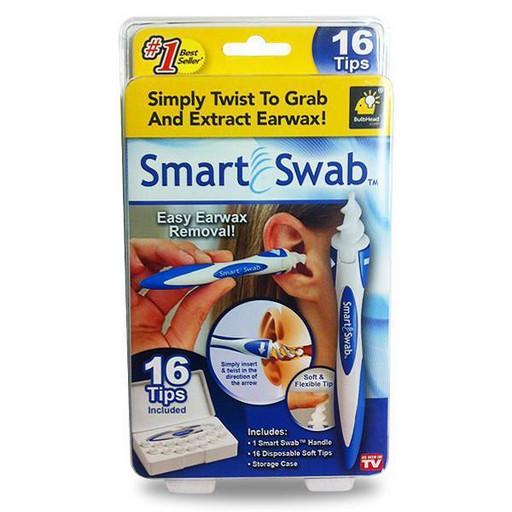 Прибор для чистки ушей Smart Swab, ухочистка