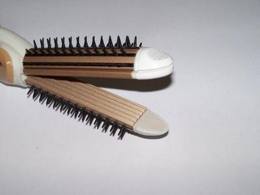 Плойка-утюжок-гофре с расческой для волос Nova NHC-8890 3в1