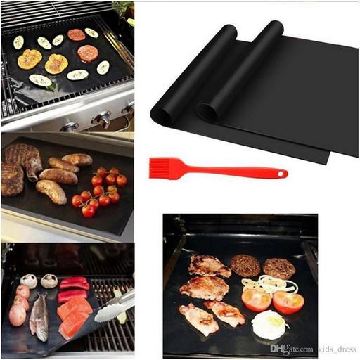 Гриль мат портативный антипригарным 33 * 40 см BBQ grill sheet
