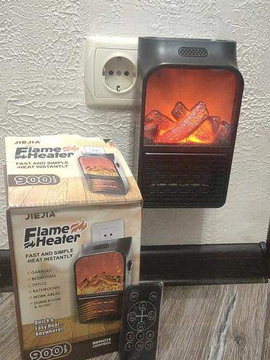 Портативный обогреватель Flame Heater-Танцующий нагреватель пламени 900 Вт