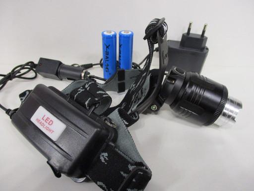 Налобный фонарик Police BL-2177B-T6